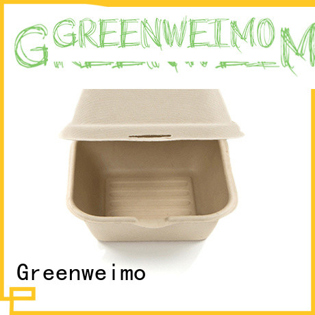 Greenweimo healthy biodegradable clamshell meet different markets for package