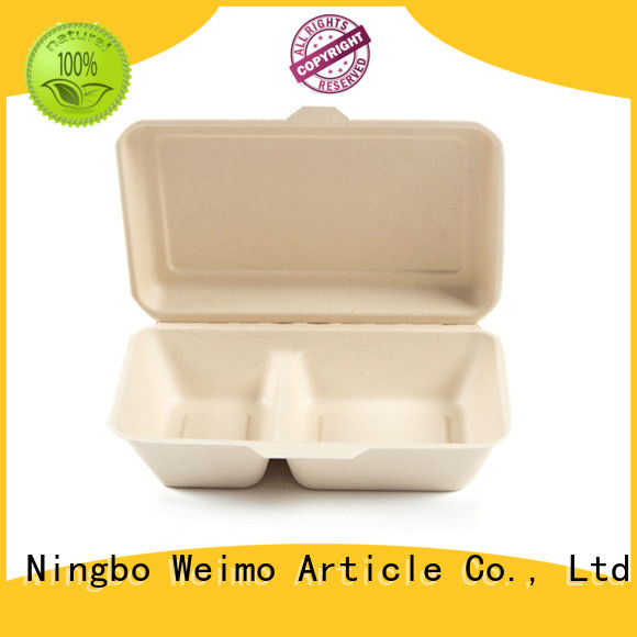 Greenweimo biodegradable containers meet different markets for package