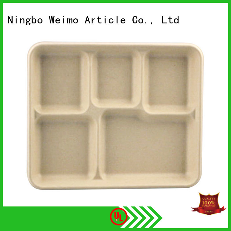 Greenweimo online compostable trays on sale for oily food