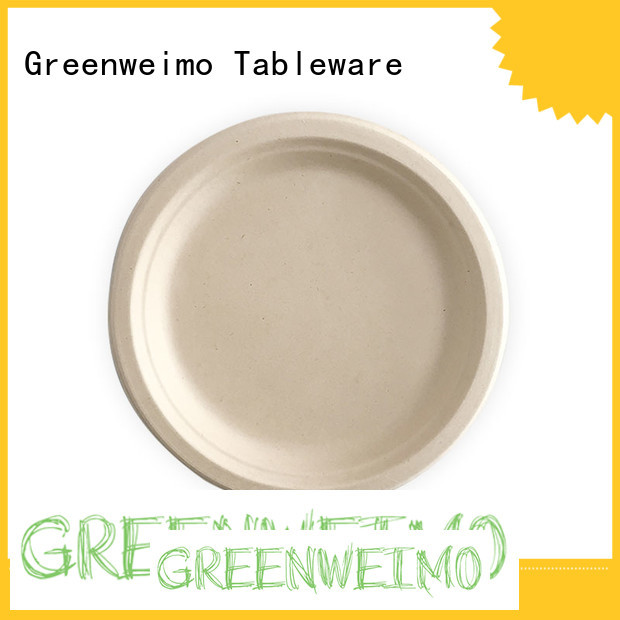 Greenweimo compostable plates compartment for activity