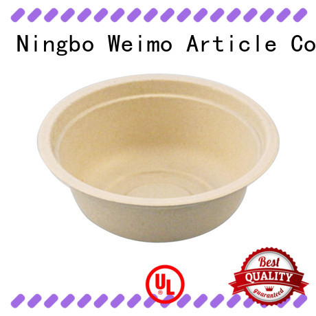 online recycled plates and bowls fiber for cake Greenweimo