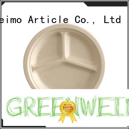 compostable dinner plates food for party Greenweimo