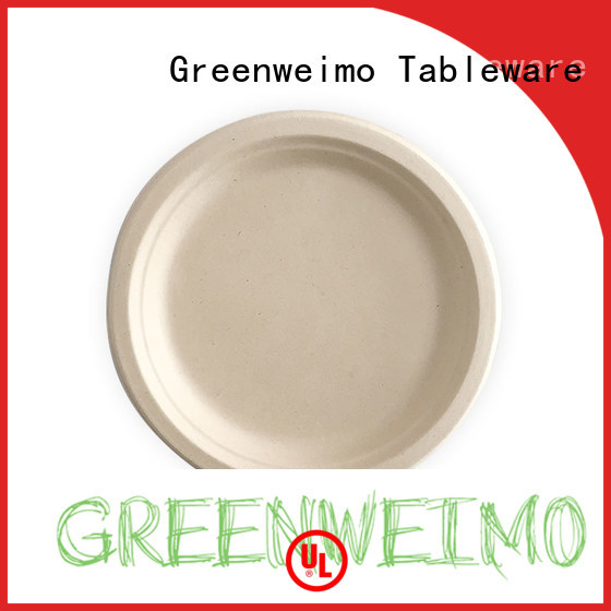 Greenweimo compostable biodegradable compartment plates meet different market for party