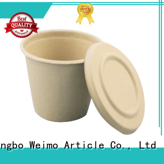 Greenweimo High-quality biodegradable containers for business for water