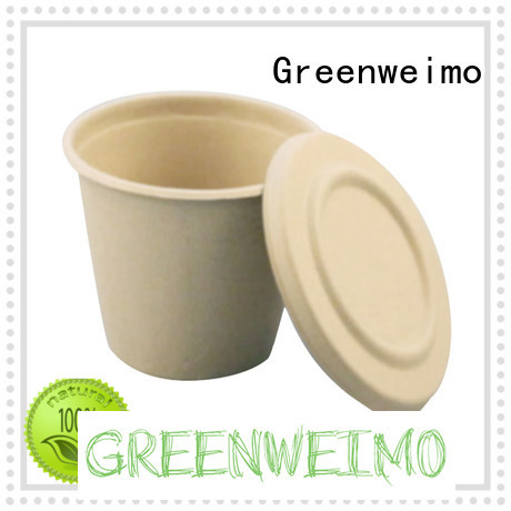 Greenweimo lid eco friendly paper cups Supply for water