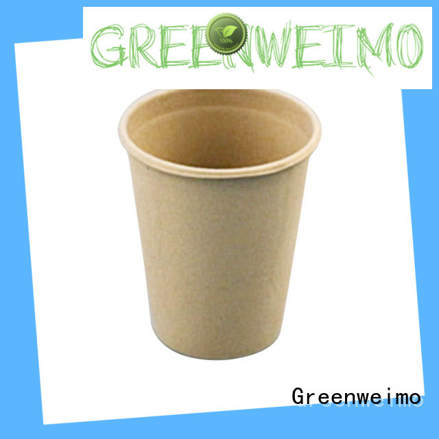 Greenweimo disposable compostable cups tableware for party