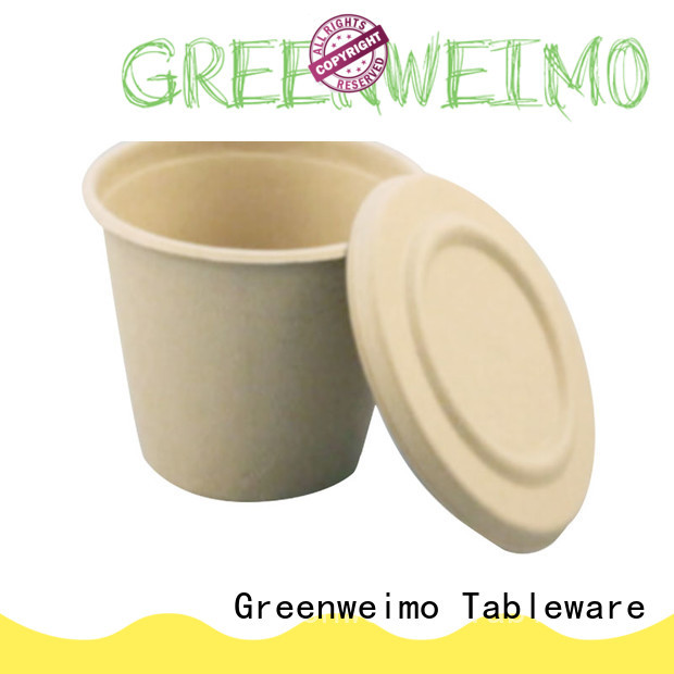 Greenweimo Best compostable coffee cups factory for water