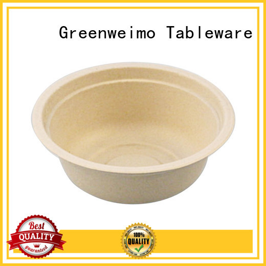 Greenweimo different biodegradable soup bowls Supply for food