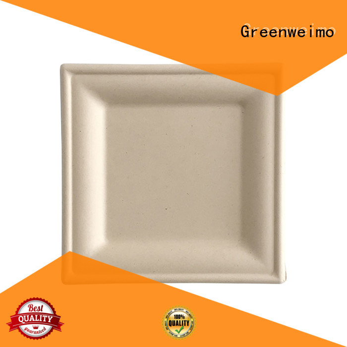 Greenweimo compartment biodegradable plate compartment for activity