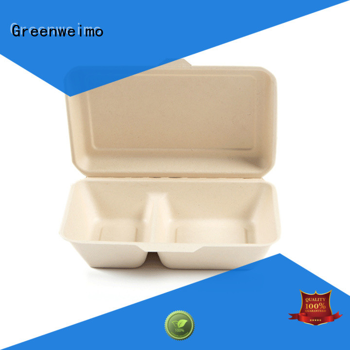 Greenweimo biodegradable clamshell meet different markets for package