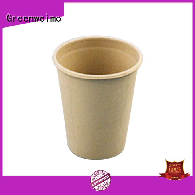 Greenweimo safe recycled paper plates and cups for business for party