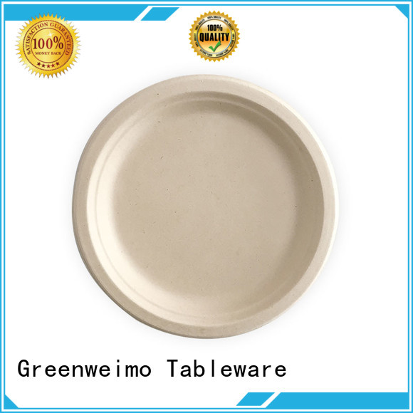 Greenweimo safe eco disposable plates disposables for hotel