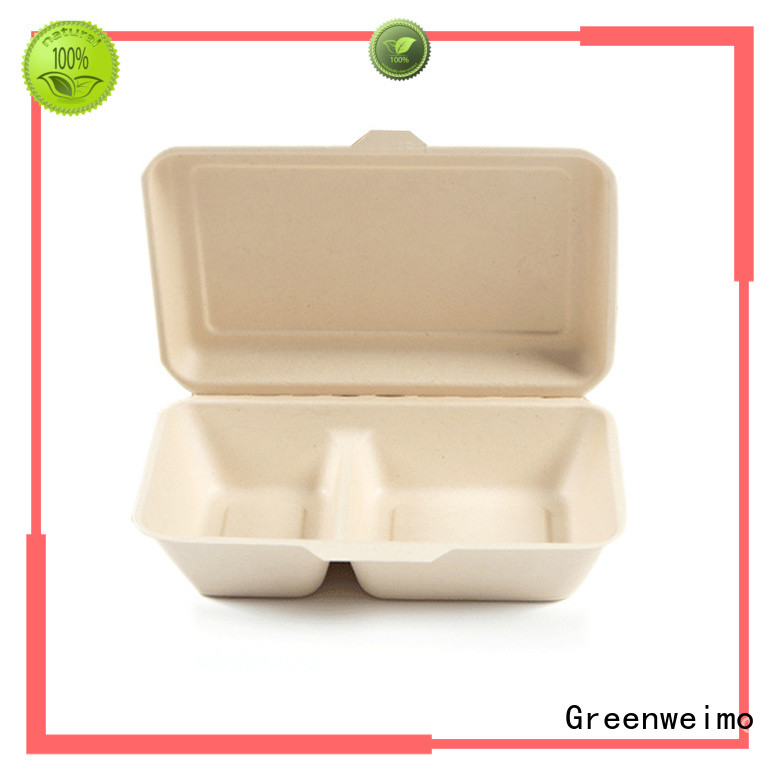 Greenweimo container takeaway boxes wholesale manufacturers for delivering