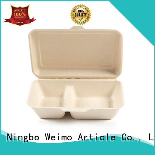 Greenweimo biodegradable clamshell on sale for delivering