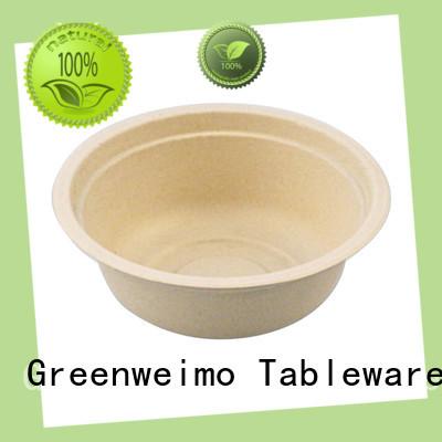 Greenweimo compostable bowls fiber for food