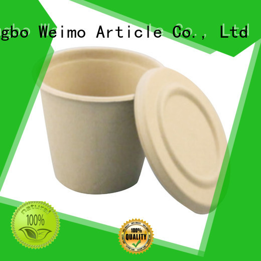 Greenweimo hinged ecotainer cups Supply for water
