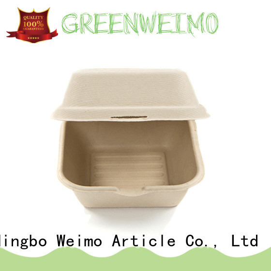 Greenweimo safe biodegradable containers meet different markets for package