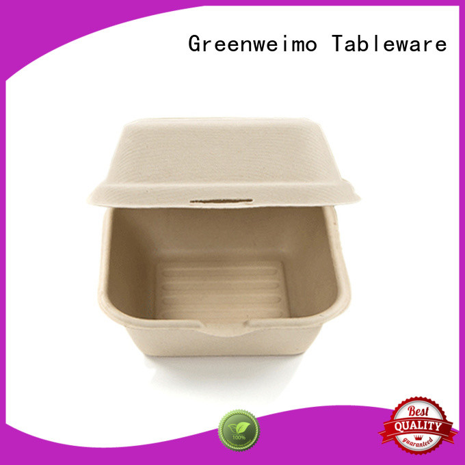 Greenweimo biodegradable clamshell meet different markets for delivering