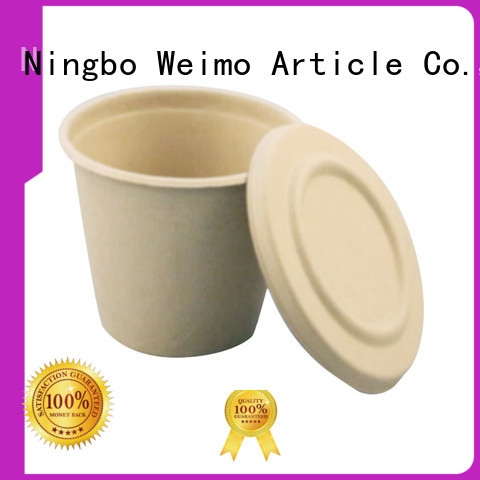 Greenweimo High-quality eco food packaging factory for water