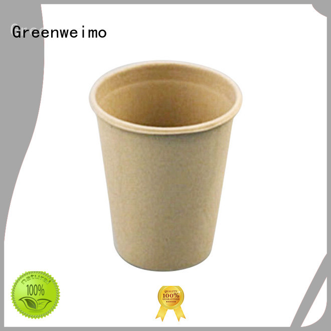 Greenweimo compostable cups on sale for water