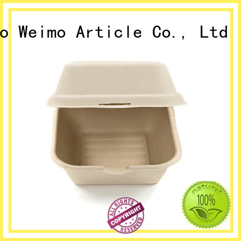 Greenweimo takeout bagasse containers company for package