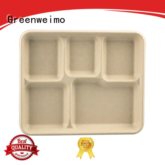 Greenweimo bagasse eco friendly food containers Supply for party