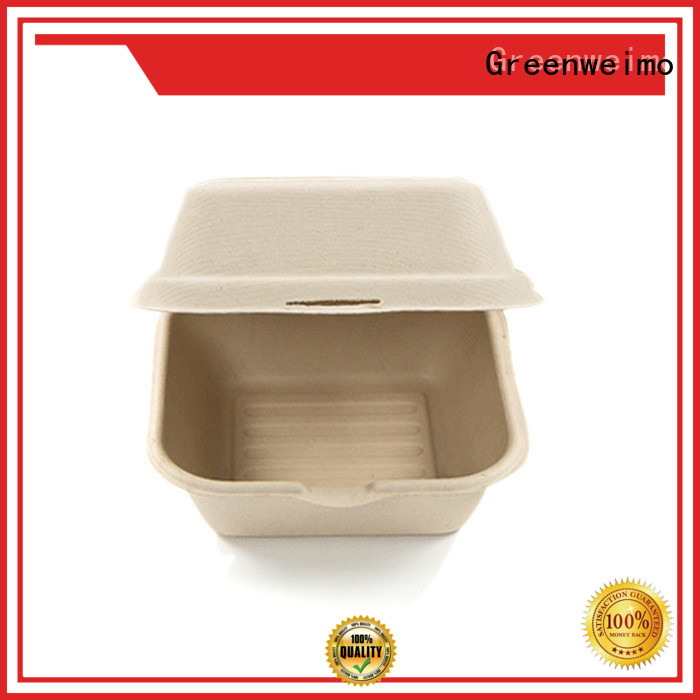 Greenweimo Custom clamshell food packaging supplies Supply for package