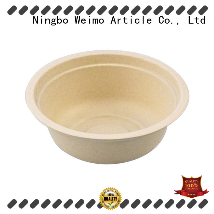 Greenweimo compostable bowls meet different needs for food