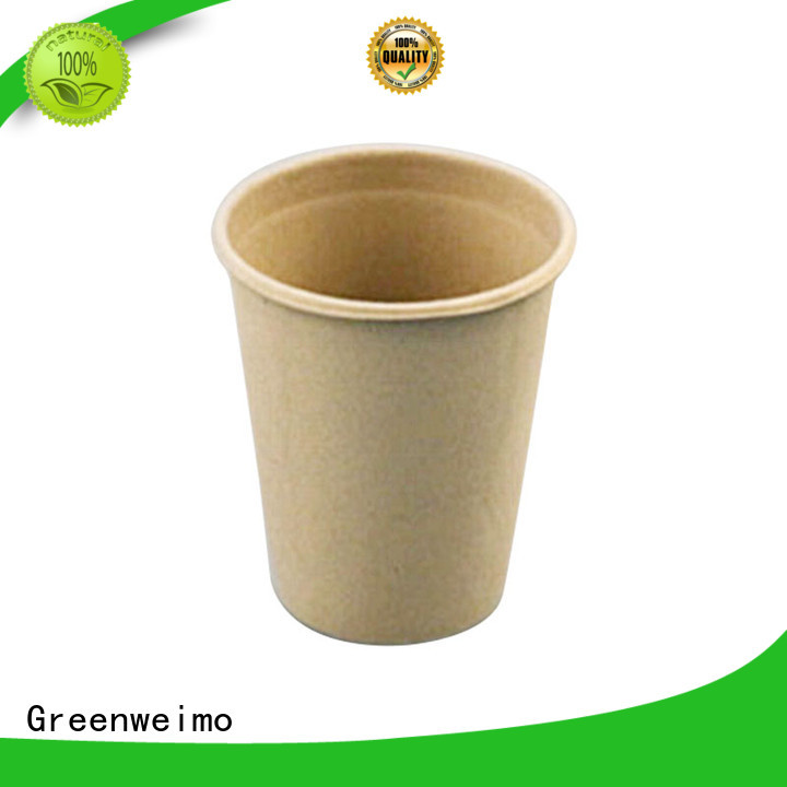 Greenweimo safe recyclable paper cups factory for water