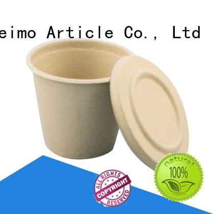 Custom biodegradable plastic bowls hinged Suppliers for water