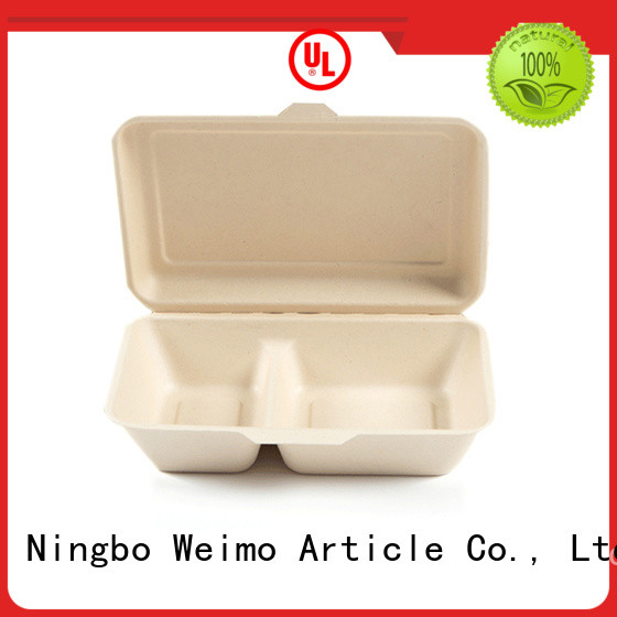 Greenweimo online biodegradable clamshell containers takeout for package