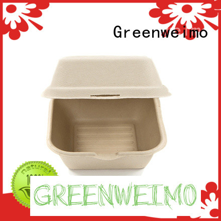 Greenweimo useful biodegradable clamshell meet different needs for package