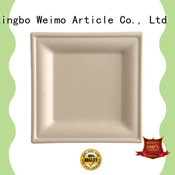 plate biodegradable wedding plates compartment for activity Greenweimo