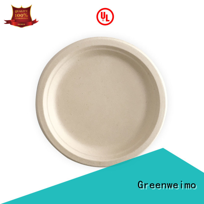 Greenweimo compostable sugarcane plates meet different market for hotel