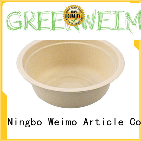 Greenweimo online biodegradable bowl meet different markets for meal