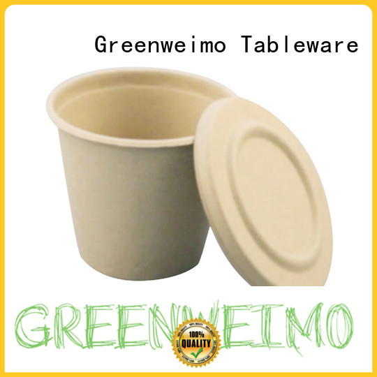 Greenweimo useful biodegradable cup tableware for water