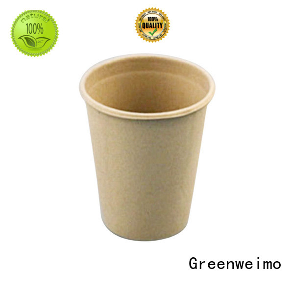 Greenweimo disposable eco friendly disposable cups lid for party