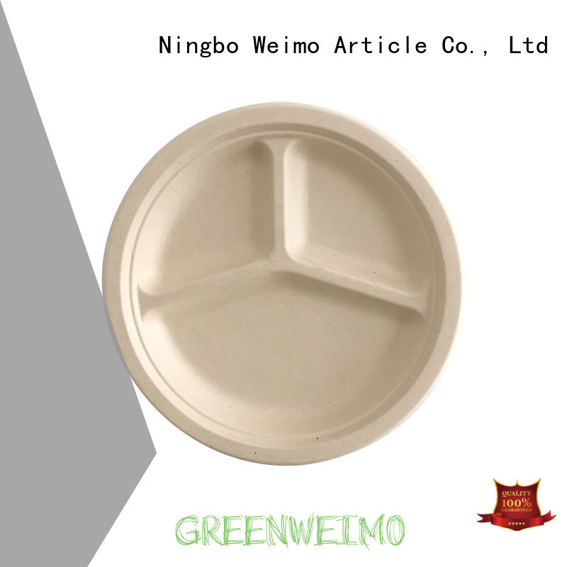 Top eco friendly tableware bagasse Supply for wet food