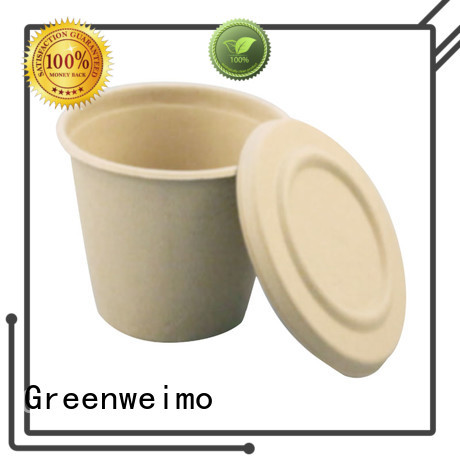 Greenweimo online biodegradable cup production for water