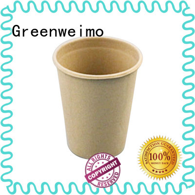 Greenweimo Custom recyclable paper cups manufacturers for water