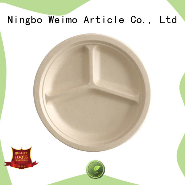 Latest eco disposable plates sugarcane company for party