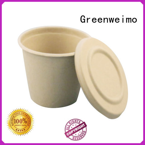 Greenweimo disposable compostable cups on sale for drinking