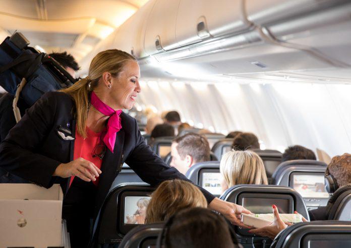 Qantas Zero Landfill Flight Cabin Meal Service