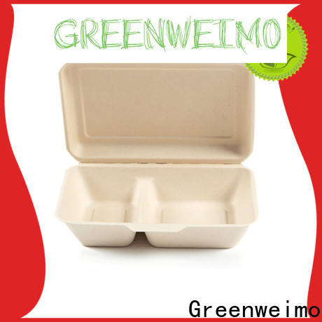 Greenweimo biodegradable biodegradable to go food containers Suppliers for delivering