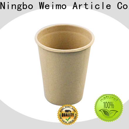 Greenweimo Wholesale compostable coffee cups Supply for water