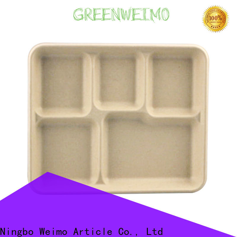 Greenweimo Top recycled paper plates for business for oily food