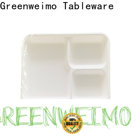 Greenweimo biodegradable eco friendly food trays manufacturers for wet food