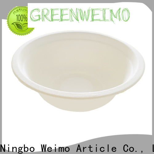 Custom bagasse cups natural factory for cake