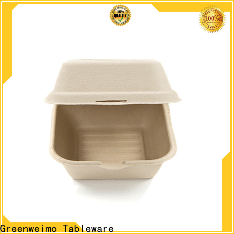 Greenweimo food biodegradable take out food containers manufacturers for food