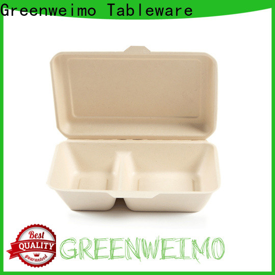 Greenweimo takeaway sugarcane containers for business for package